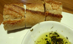 bread and dipping oil